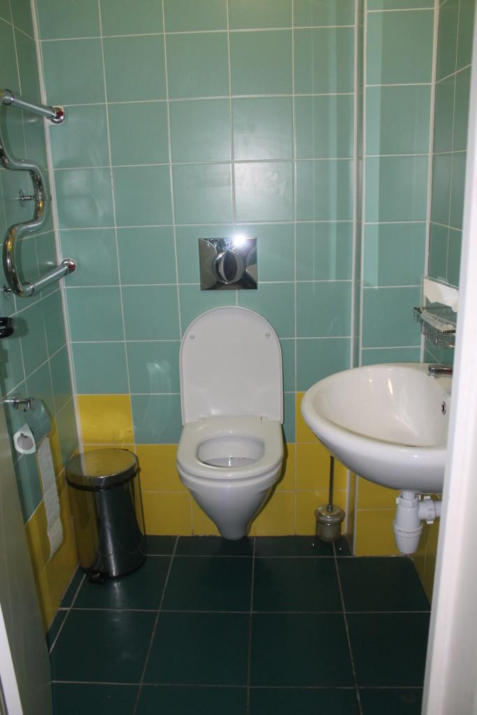 Туалет в блоке