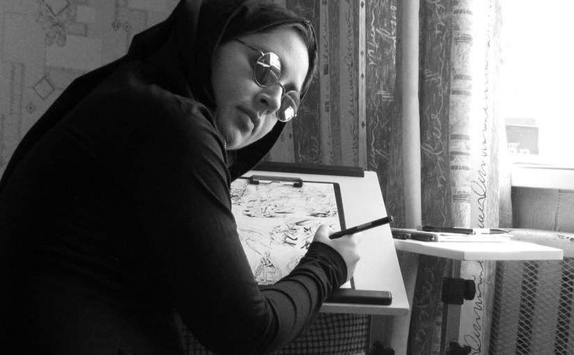 Художник-комиксист Татьяна Бойко (Octane) о творчестве, индивидуальности и трудолюбии