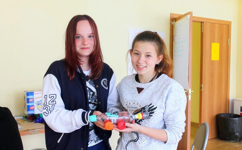 Робототехника в  лагере «Профессионалы будущего»