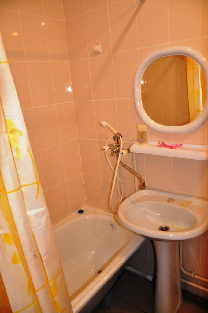 Ванна и туалет в номере