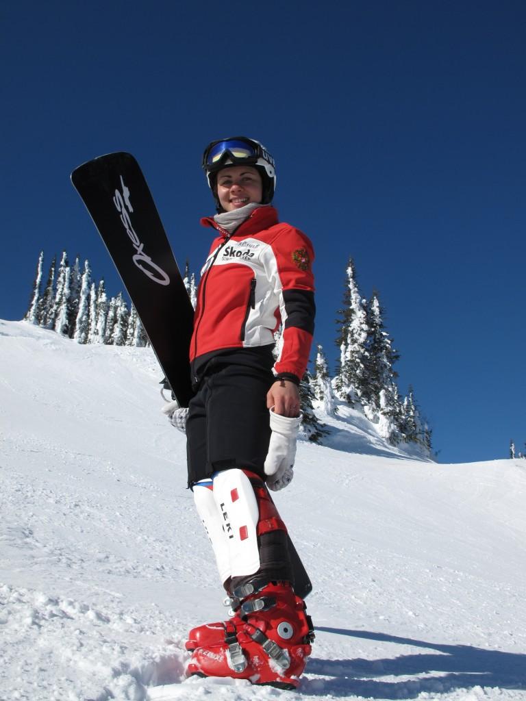 Екатерина Илюхина, сноубордистка